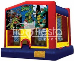 Ninja Turtle Modular Bounce House 13×13