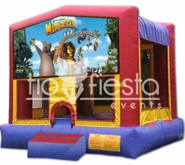 Madagascar Modular Bounce House 13×13