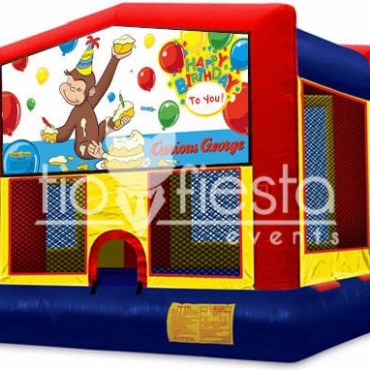 Curious George Modular Bounce House 13×13