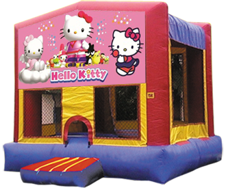 Hello Kitty Modular Bounce House 13×13
