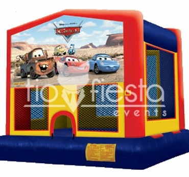 Cars Modular Bounce House  13×13