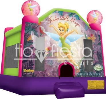 Tinker Bell Full Face Bounce House  15×15