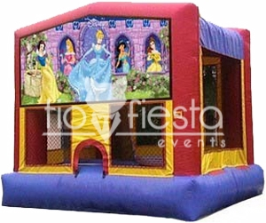 Princesses Modular Bounce House  13×13