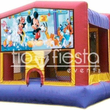 Mickey & Friends Modular Bounce House 13×13