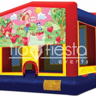 Strawberry Shortcake Modular Bounce House 13×13