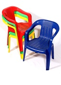 Kiddie Colorful Chair